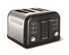 The Accents collection from Morphy Richards is a touch of designer chic for your kitchen. Like purple appliances in a stunning plum shade. This 4 slice toaster with chrome accents is what you need Red 4 Slice Toaster, Purple Toaster, 4 Slot Toaster, Cheap Toaster, Sandwich Toaster, Harvey Norman, Design Blog, Small Kitchen Appliances, Toaster