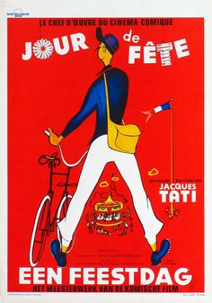 Jour de Fête movie poster by René Perón