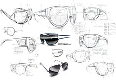Eyewear Sketches
