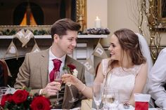 Romantic Christmas Wedding at The Racquet Club, Liverpool