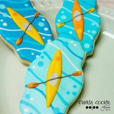 kayaks cookies // Jill Fcs