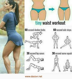 The perfect tiny waist abs workout at home [Video Tutorial] – d/scovr