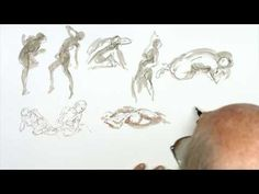 Timed Model Drawing Session 5 // Instructor: Glenn Vilppu - YouTube Life Drawing, Figure Drawing, Art Tutor, Beautiful Lines, Moose Art, Sketches, Picasso, Drawings, Youtube