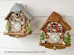 Gingerbread Cuckoo Clocks