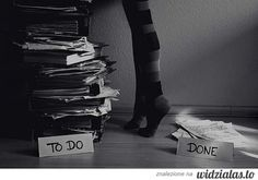 To do and done