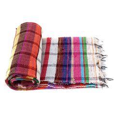 Handloomed Rag Rug Yoga Mat Handmade Saree Chindi Carpet Rectangular Durrie Y801 #JodhpurRugs #RagRug