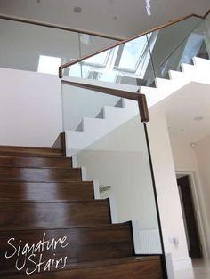 Glass Balustrade | Balustrade Stairs & Stairwell | Signature Stairs Ireland