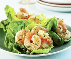 coconut shrimp lettuce wraps