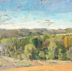 """Andrew Wykes - """"September"""" 30x30, Oil on canvas. 2007"""