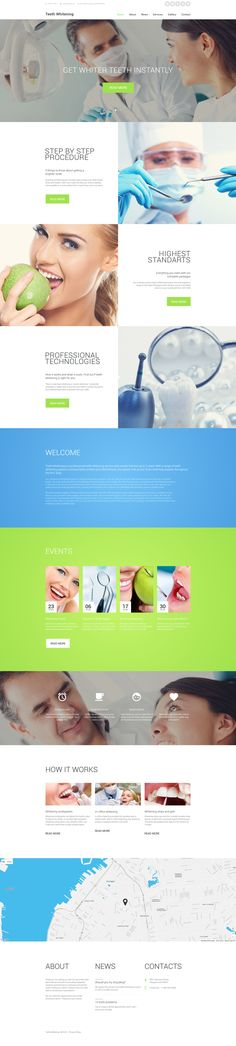 Dentist Website Template  http://www.templatemonster.com/website-templates/58563.html #html #html5