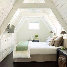 Best attic bedroom. Ever.