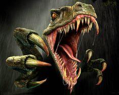 Items similar to Scary fun Tyrannosaurus Rex T-Rex Men's T SHIRT prehistoric animal dinosaur roar on Etsy Dinosaur Images, Dinosaur Pictures, Dinosaur Art, Raptor Dinosaur, Dragon Pictures, Dinosaur Birthday, Velociraptor Jurassic World, Jurassic Park World, Illustration Photo