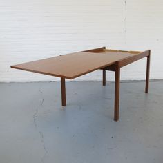 Pastoe dining table, 1960s