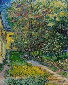 Vincent van Gogh, «Garden of Saint-Paul Hospital»