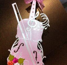 Violino em Scrap