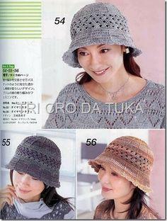 sombrero con patrón