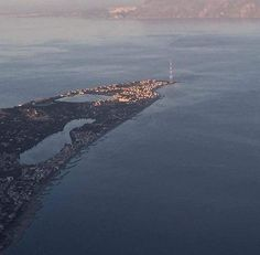 Messina, laghetti di Ganzirri torre faro