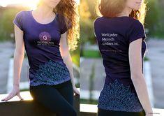 Shirt design – part of branding project for Gleichklang. Of Brand, Super, Shirt Designs, Branding, T Shirts For Women, Inspiration, Tops, Fashion, Biblical Inspiration