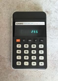 Calculatrice-CASIO-Personal-M-1-Electronic-Calculator