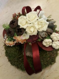 Funeral Flower Arrangements, Funeral Flowers, Christmas Wreaths, November, Holiday Decor, Wreaths, Xmas, Corona, Christmas Time
