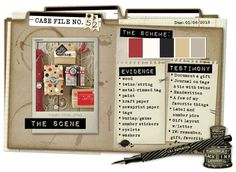 Case File No. 52 {Case closes on January 6, 2013} - CSI: Color, Stories, Inspiration