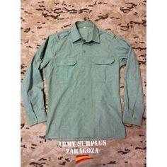 Camisa Sarga de la Legion Surplus