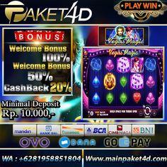 Bandar Judi Slot Deposit Pulsa Paket4d