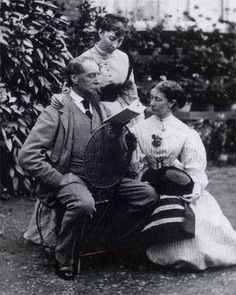 Charles Dickens and his daughters