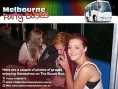 Have A party and the best Night imaginable on the Booze Bus in Melbourne.
