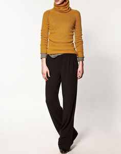 from Zara website (the sweater is $40) -- looks like I found my outfit for Christmas Eve dinner.
