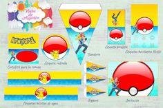 Kits imprimibles diseños variados Pokemon, Lollipops, Cartoon, Projects, Stencils, Custom Chocolate