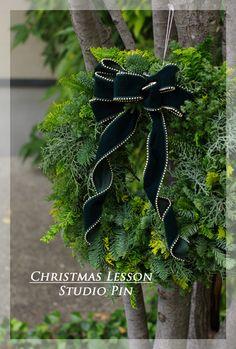 【生花】クリスマスリースレッスンの募集♪