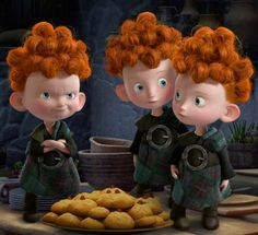 """Wee devils, more like. They get away with murderh! I can neverh get awayh with anythingh!"" ~ Merida"