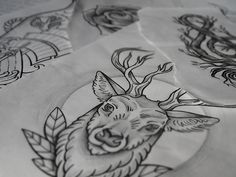 Sketchy Tattoo @Kosart