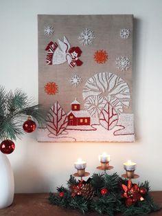 Voici ce que je viens d'ajouter dans ma boutique #etsy : Noël Broderie au poinçon Punch needle Patron PDF Téléchargement immédiat Tableau moderne Tapisseries Cadeaux http://etsy.me/2yZytUW #art #arttextile #blanc #noel #rouge #furniturescreatives #broderiepoincon #punc