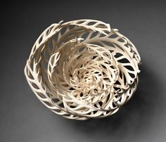 Porcelain Vessels Inspired by the Ocean Sculpted by Jennifer McCurdy