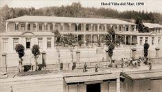 Hotel Viña del mar, 1890   -   (Me parece que estaba en el Cerro Castillo)
