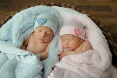 Twin baby hat twin newborn hat twin hospital by Infanteeniebeenies, $19.99