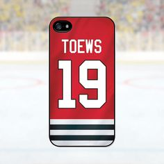 Jonathan Toews  Chicago Blackhawks Case iPhone 4 by PhoneJerseys, $16.99