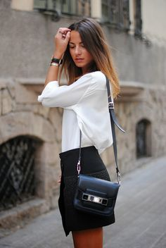 FASHIONVIBE: White Silk