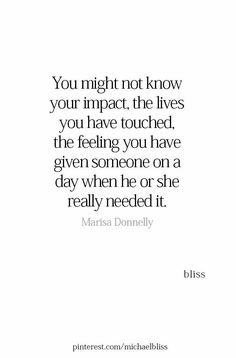 This was Jesse.he couldn't see himself & all the lives he touched Worth Quotes, True Quotes, Great Quotes, Quotes To Live By, Motivational Quotes, Funny Quotes, Inspirational Quotes, Qoutes, Bliss Quotes