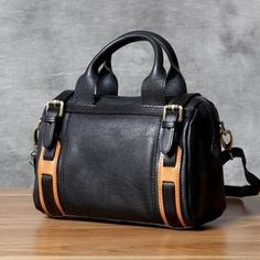Genuine Leather Tote Bag,Crossbody Shoulder Bag, Handmade Bag OAK-066