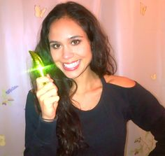 No it's not a glow stick. It's my new Organic Wear Physicians Formula mascara! Yes I switched to organic mascara! When I use a few coats (instead of just 1 like usual), it works pretty darn well. It's free of synthetic preservatives, harsh chemicals, parabens and dyes. Check it out at a drugstore near you!