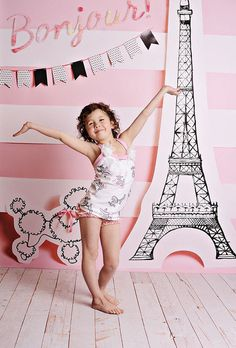 Bonjour Photo Backdrop by PepperLu on Etsy