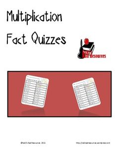 Here are 10 multiplication quizzes to help you practice and/or assess your students in basic multiplication facts (up through 10).  You can use the...