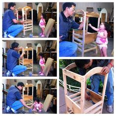 DIY learning tower Montessori, Learning Tower, Early Childhood, Good To Know, Woodworking Projects, Charlotte, Craft Ideas, Led, Activities