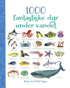 Usborne 1000 things under the sea English words learning board picture book for kids boys girls gifts Books early education(China) Colorful Jellyfish, Illustrator, Blue Marlin, Deep Sea Creatures, King Penguin, Blue Whale, Early Education, English Words, Sea And Ocean