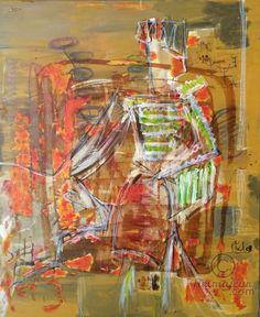"""Torro ! (Peinture) par Phil Cincinati Phil Cincinati, """" Torro """" Acrylique sur toile"""
