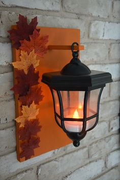 DIY Lanterns Upcycled From Thrifted Path Lights - Thrift Divng Blog - 782 Quaint Living Room Ideas, Jar Lights, Hanging Lights, Electric Tea Lights, Porch Lanterns, Lighted Centerpieces, Pathway Lighting, Walkway Lights, Lighting Ideas