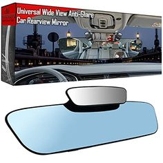 Amazon has the Anti Glare RearView Mirror – 13″ 330mm Car Rear view Mirror Clip-on , Interior Rear View Mirror Convex Car Mirror Wide Angle Reduce Blind Spot, Panoramic Rearview Mirror for Car Truck SUV marked down from $17.95 to $8.97. That is $8.98 off retail price! TO GET THIS DEAL: GO HERE to go…